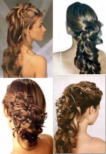 26 апр 2013 Свадебные прически на длинные волосы сделают королевой и ветреный день даже самые тугие локоны не...